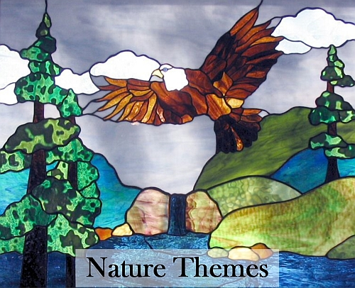 Nature Themes Button