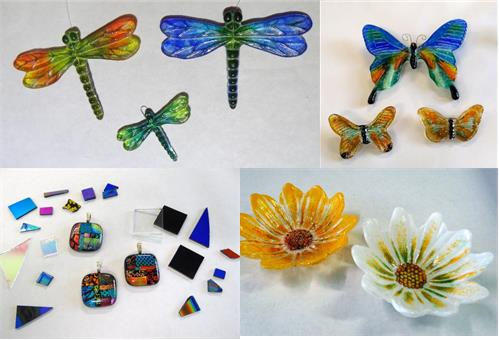 Flowers of Hope Fusing or Try Fusing Workshops
